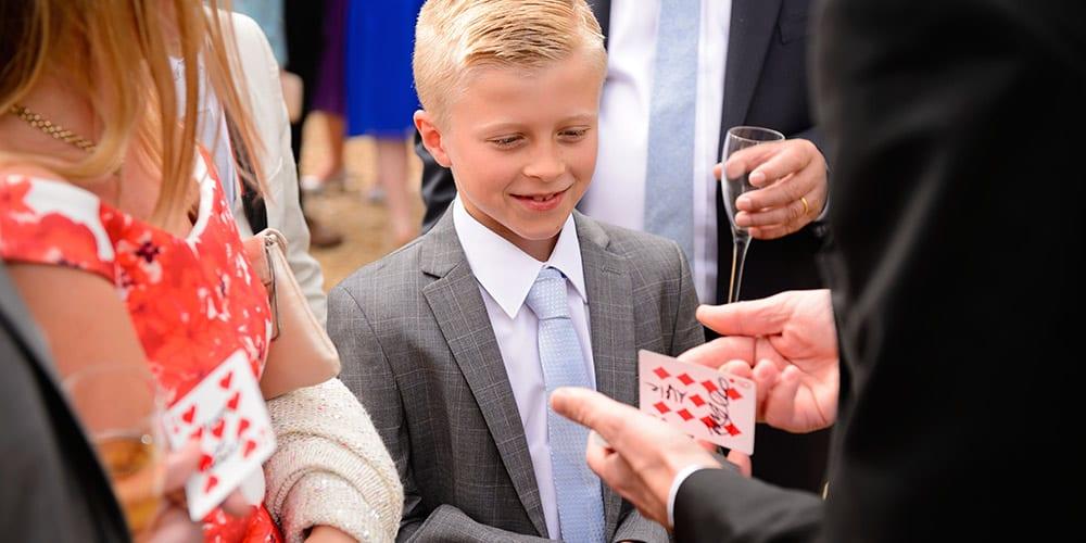 wedding magician david redfearn